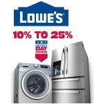 Lowes Presidents Day Sale