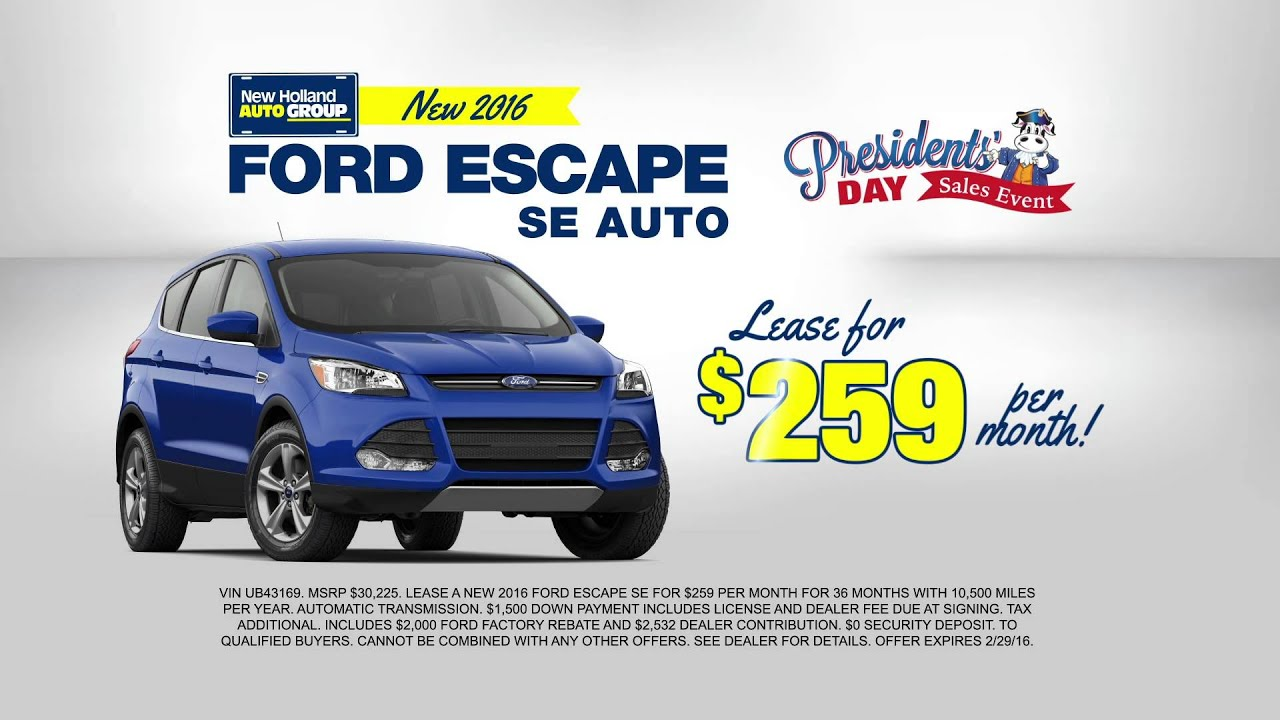 Ford Presidents Day Sale