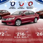 Honda Presidents Day Sale